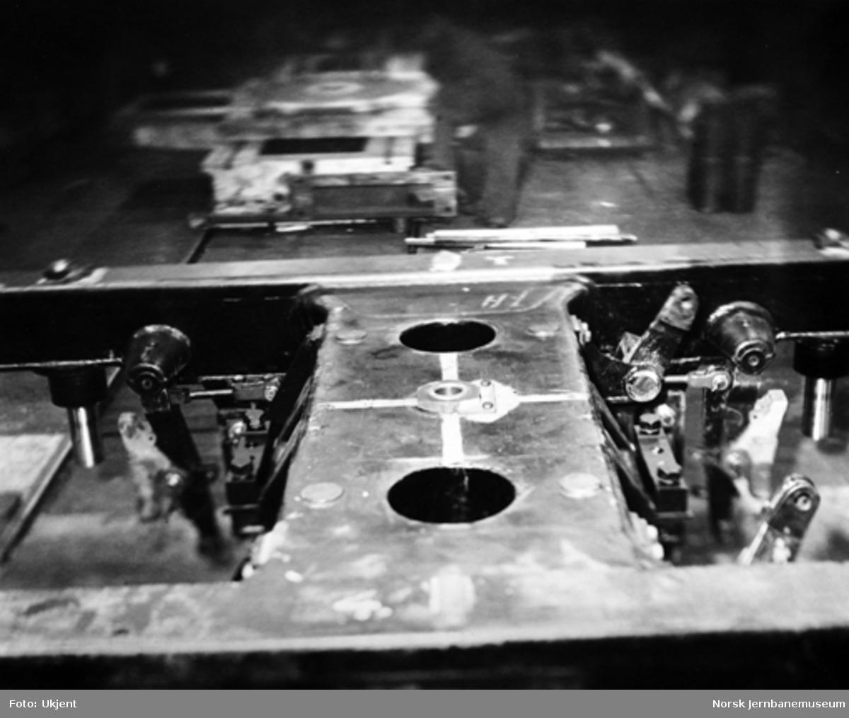 Produksjon av El 11 på Thune's Mekaniske Værksted