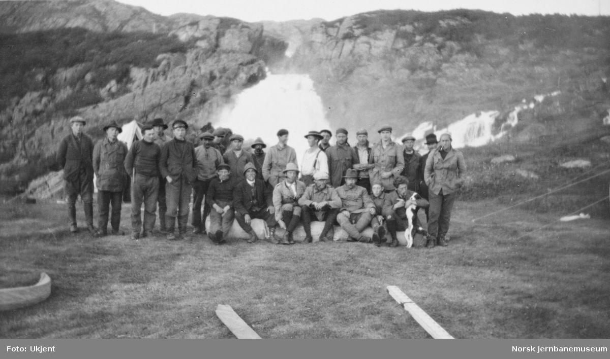 Jernbanestikking i Finnmark : stikningslaget ved Adamsfjord