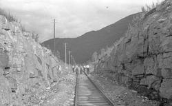 Nordlandsbaneanlegget : sporvedlikehold ved Dunderland
