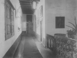 Interiørmotiv fra Baroniet Rosendal i Kvinnherad i Hordaland